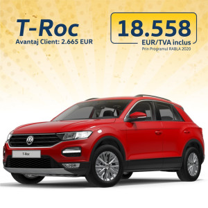 T-Roc Design 1.0 TSI Red